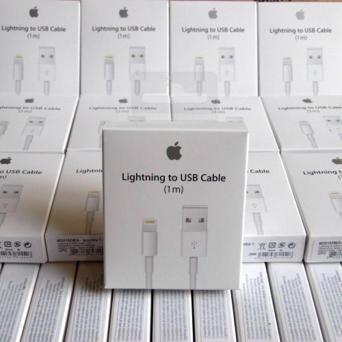 Genuine Original 1M Apple Lightening USB Charger Lead Cable iPhone 6 7 8Plus X