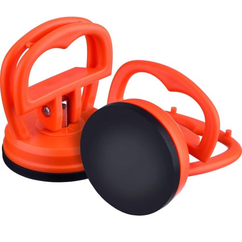 2 Pack 5.5 cm Dent Puller Car Dent Suction Cup Auto Body Dent Puller Removal Tool (Orange)