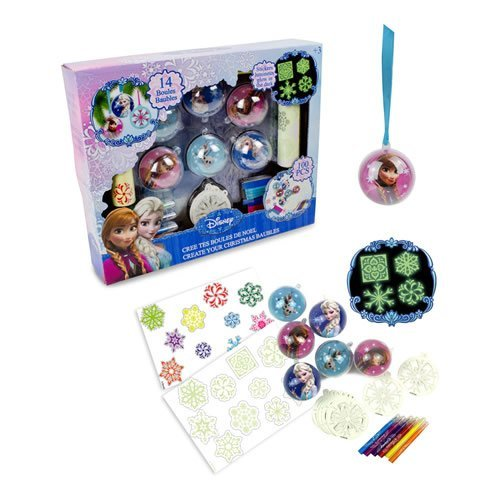 Disney Frozen Creative Christmas Tree Bauble Activity Set Model. CFRO009