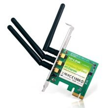 TP-LINK (TL-WDN4800) 900Mbps (450+450), Wireless Dual Band PCI Express Adapter, 3 Detachable Antennas