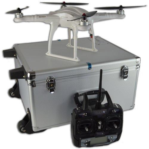 FreeX GPS System RC Drone Quadcopter - RTF With Aluminium Carry Case