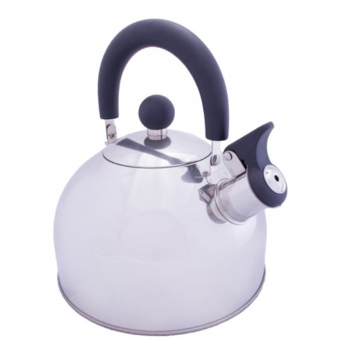Vango 2.0L Stainless Kettle With Folding Handle (Silver)