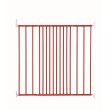 BabyDan Multidan Extending Metal Safety Gate, Limited Edition Red