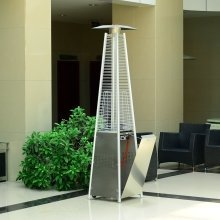 Outsunny 13kw Pyramid Heater | Freestanding Patio Heater