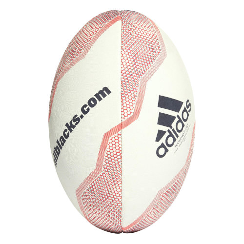 adidas New Zealand All Blacks Rugby Union Rugby Ball Whte/Red