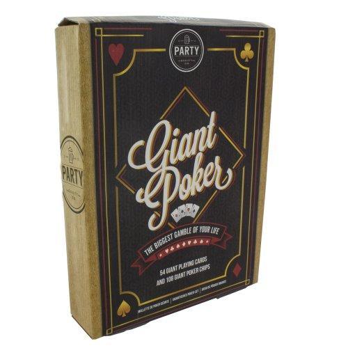 Paladone Giant Poker Set