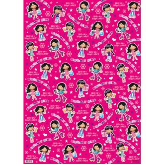 Simon Elvin Birthday Girl Gift Wraps (24 Sheets)