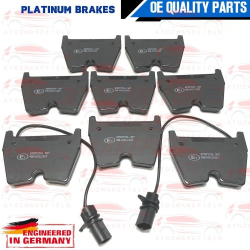 FOR AUDI RS4 RS5 R8 FSI SPYDER QUATTRO 4.2 5.2 FRONT PLATINUM BRAKE PADS SET NEW