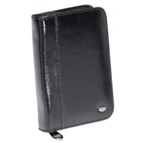 Falcon Leather Passport Holder - Medium - FI3001L Black