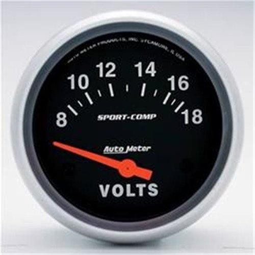 AUTO METER 3592 Sport Comp Voltmeter 2.62 In.
