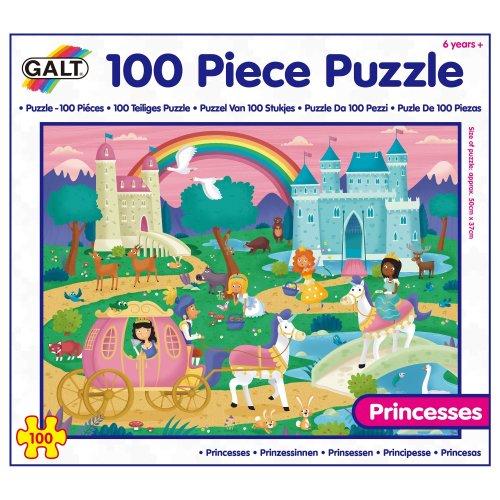 Galt Toys 100 Piece Puzzle Princesses