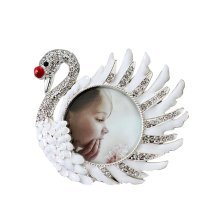 3 inch Baby/Adult Home Desk Rest Photo Frame Right Swan
