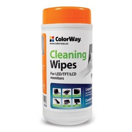 Colorway Cleaning Wipes for Lcd And Tft Screens 100 Sheets CW-1071