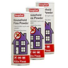3pc Beaphar Household Flea Powder 300g | Carpet Flea Powder
