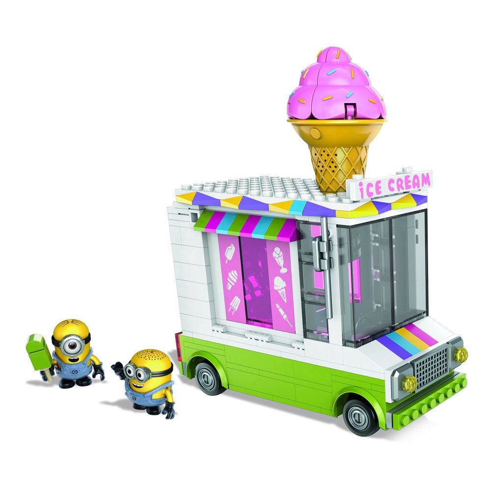 Mega Bloks Despicable Me Minions Ice Cream Truck On Onbuy