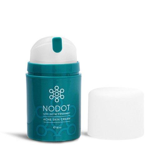 Nodot Anti-Acne Treatment Acne Skin Cream 50ml, Powerful Ozonised Cream to Treat Acne, Dissolve Clogged Pores, Prevent Future Breakouts, Moisturise...