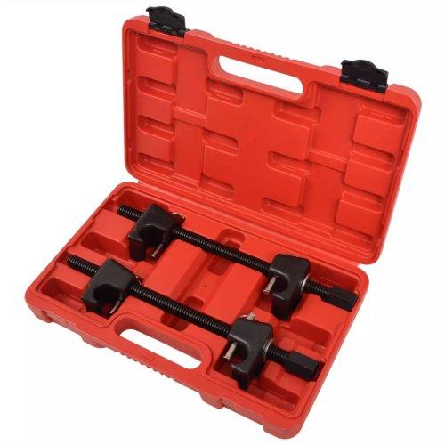 vidaXL MacPherson Strut Coil Spring Compressor 2pcs Car Garage Tool Steel