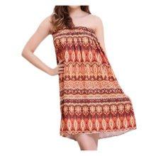 Comfortable Sauna Salon Khan Steam Bathrobe Bath Skirt Strapless Bathing Dress-A01