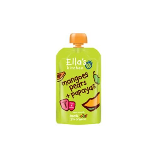 Ellas Kitchen Stage 1 Mangoes Pears & Papayas 120g