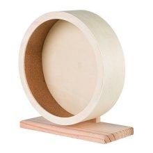 Wooden Exercise Wheel, Large Ø 28cm (for Hamsters, Degus) - Wheel Hamsters -  wheel wooden exercise hamsters degus large 28 cm trixie