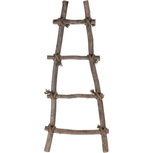 Decorative 4 Rung Decorative Wooden Step Ladder 82cm Tall