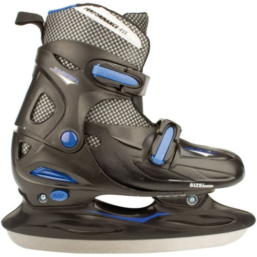 Nijdam Ice Hockey Skates Size 30-33 3024-ZWB-30-33