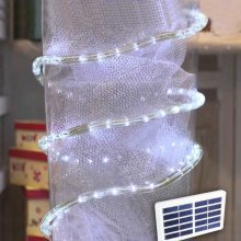 Solar christmas lights, tube 50 led