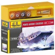 Hel49076 - Heller 1:1600 - Porte Avions Colossus