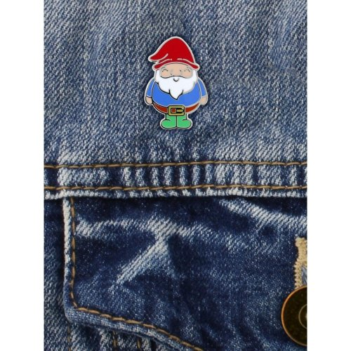 Grindstore Chubby Gnome Enamel Pin Badge