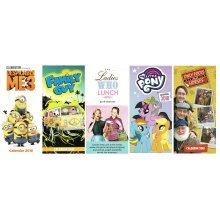 2018 Official Small Slim Wall Calendar Christmas Birthday Gift Films TV Series