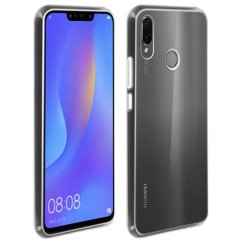 size 40 07a8c 07887 Silicone case Glossy & matte back cover for Huawei P Smart Plus -  Transparent