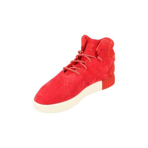 92499f08e Adidas Originals Tubular Invader Mens Hi Top Trainers Sneakers