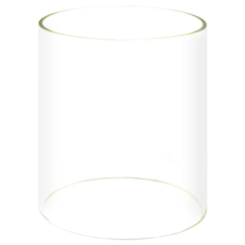 vidaXL Glass Cylinder for Hot Dog Warmer 200x240mm Maker Replacement Accessory