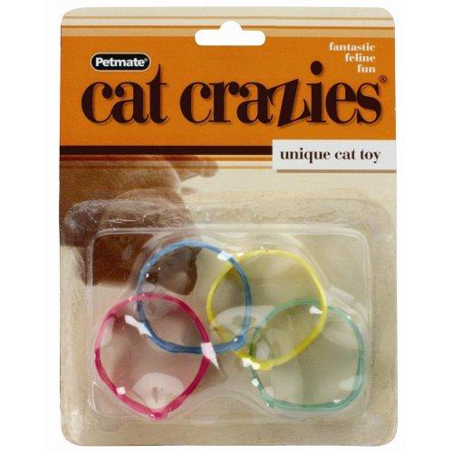 Booda Cat Crazies Cat Toy (4 pack)