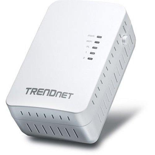 Trendnet Powerline 500 AV2 Wireless Access Point 500Mbit/s Ethernet LAN Wi-Fi White 1pc(s) PowerLine network adapter