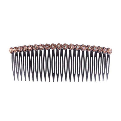 Chuck Top Jewelry Card Edge Rhinestone Hair Accessories Hairpin Comb Bangs