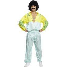80's Scouser Shell Suit Fancy Dress Costume