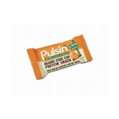 Pulsin - Orange Choc Chip Protein Snack 50g X 18
