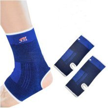 Sports Ankle Support Wraps (Pair), One Size