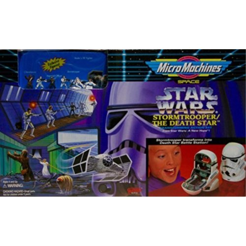 Star Wars MicroMachines Stormtrooper Death Star Transforming Action Set