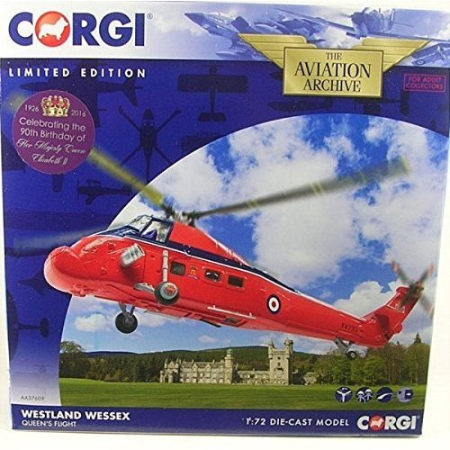Hornby Westland Wessex Queens Flight Hendon - Aa37609 Corgi 172 -  westland wessex flight aa37609 queens hendon corgi 172