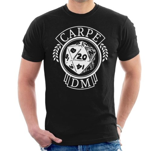 Carpe DM Dungeons And Dragons Men's T-Shirt