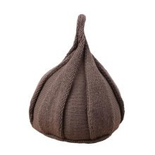 Fashion Winter Baby Kids Warm Hats Crochet Caps Toddler Comfortable Hat Best Gift-Coffee