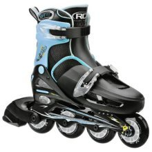 Roller Derby Boys Cobra Adjustable Inline Skate, Medium