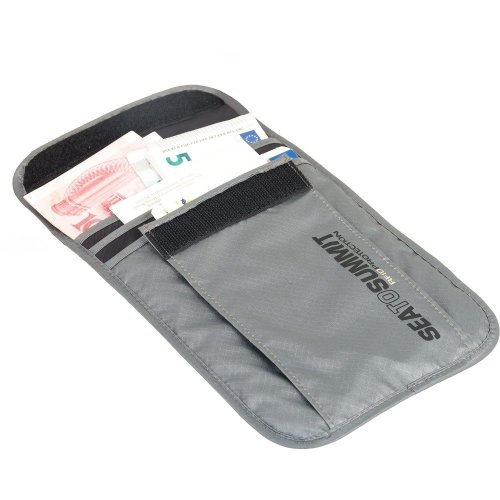 Sea to Summit RFID Proof Neck Pouch Large (Grey)