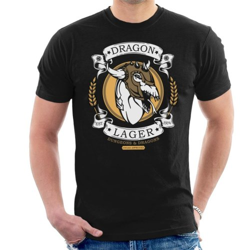 Dragon Lager Dungeons And Dragons Men's T-Shirt