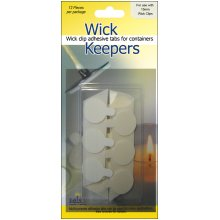 Wick Keepers 12/Pkg-15mm