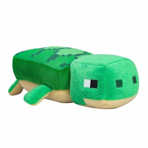 "Plush - Minecraft - Happy Explorer Sea Turtle 8"" Sof Doll New Licensed j8982"
