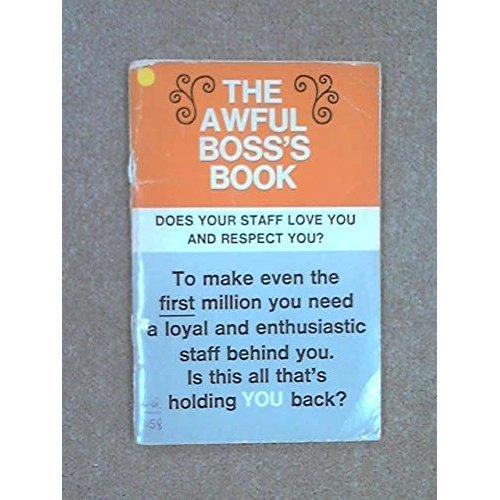 Awful Boss's Book