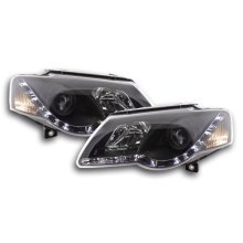 Daylight headlight VW Passat type 3C Year 05- black RHD